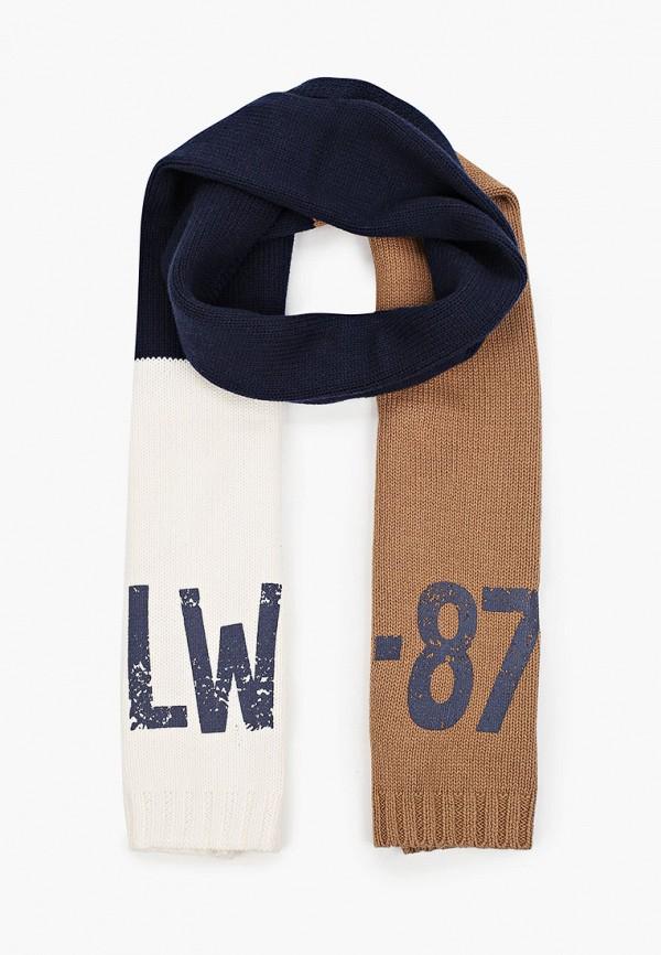 шарф gulliver для мальчика, разноцветный