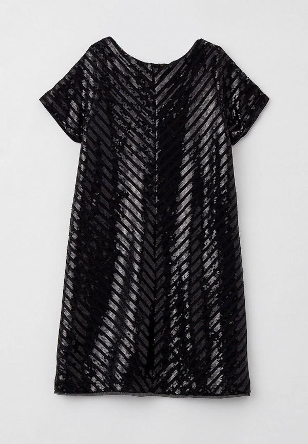 нарядные платье gulliver для девочки, черное