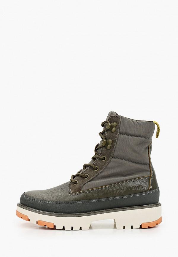 женские высокие ботинки levi's®, хаки
