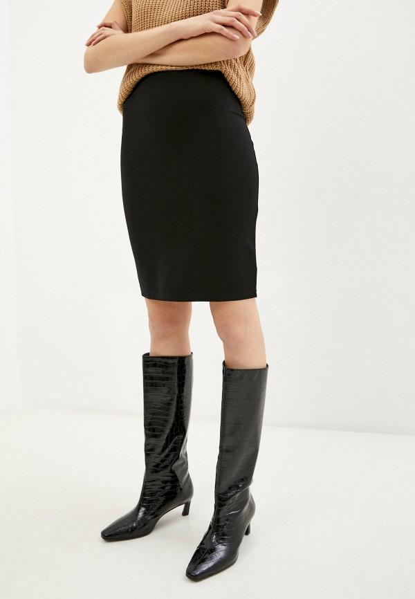 женская зауженные юбка snow airwolf, черная