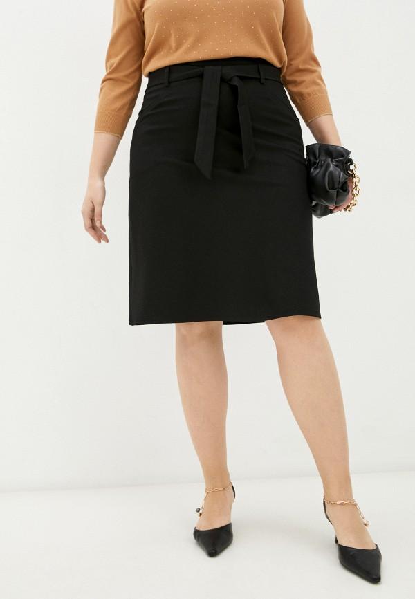 женская прямые юбка snow airwolf, черная