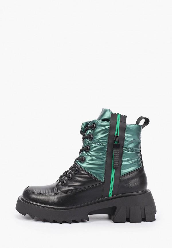женские высокие ботинки wilmar, зеленые