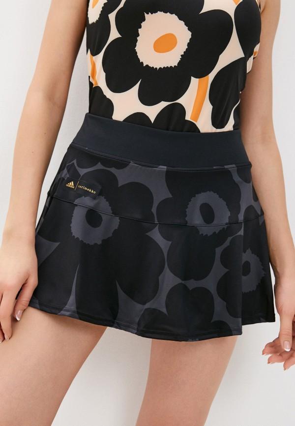женская спортивные юбка adidas, разноцветная