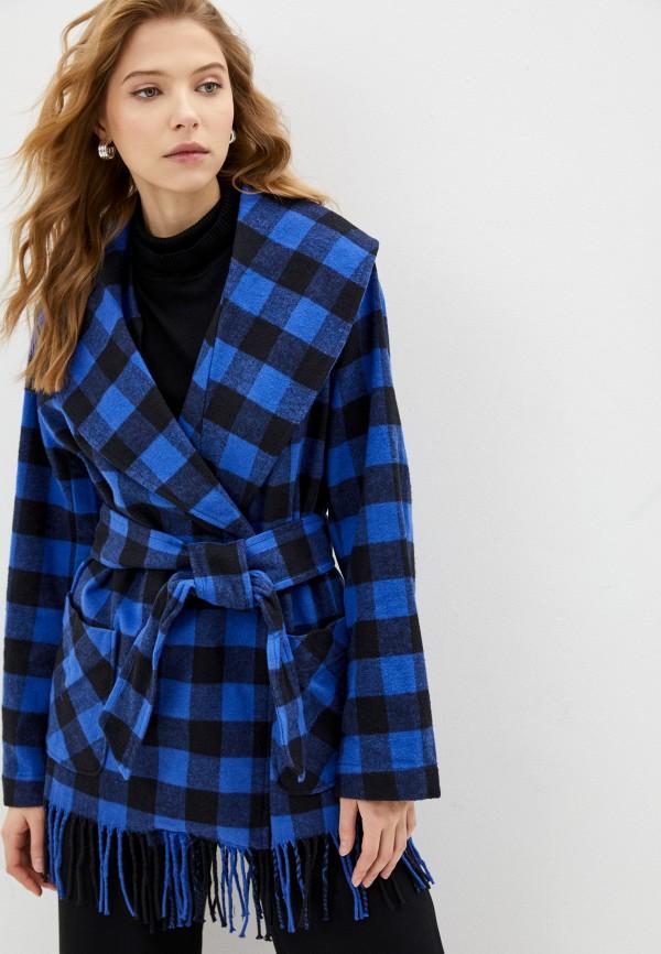 женское пальто polo ralph lauren, синее