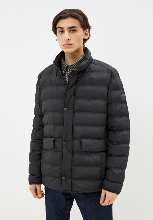 мужская утепленные куртка pierre cardin, черная