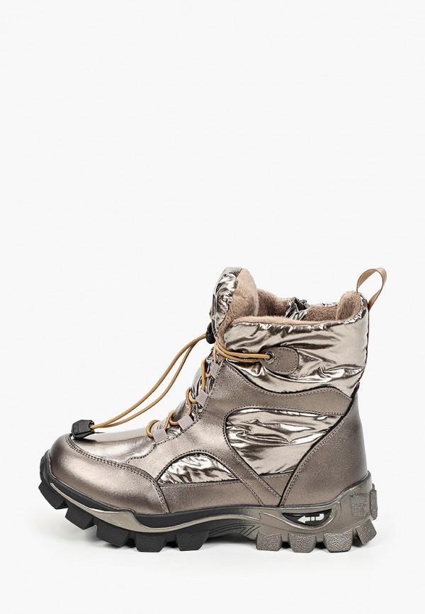 ботинки kenka для девочки, золотые