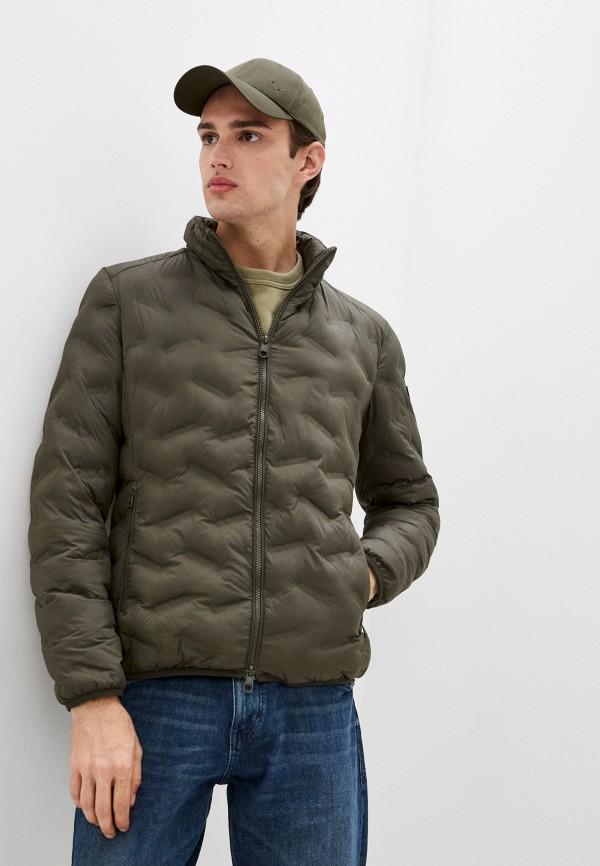 мужская утепленные куртка pierre cardin, хаки