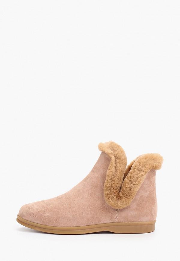женские высокие ботинки corso como, бежевые