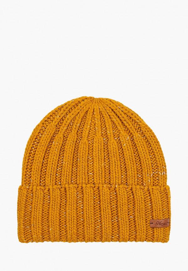 женская шапка noryalli, оранжевая