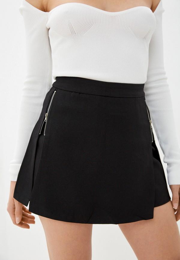 женская юбка elsi, черная