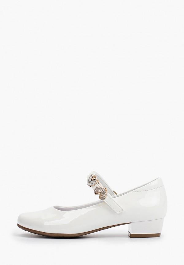 туфли kapika для девочки, белые