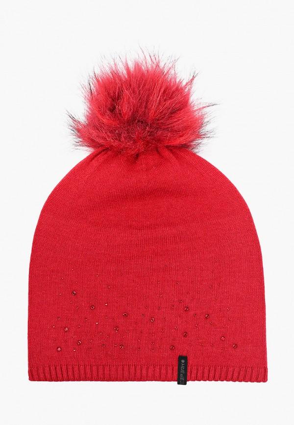 женская шапка icepeak, серая