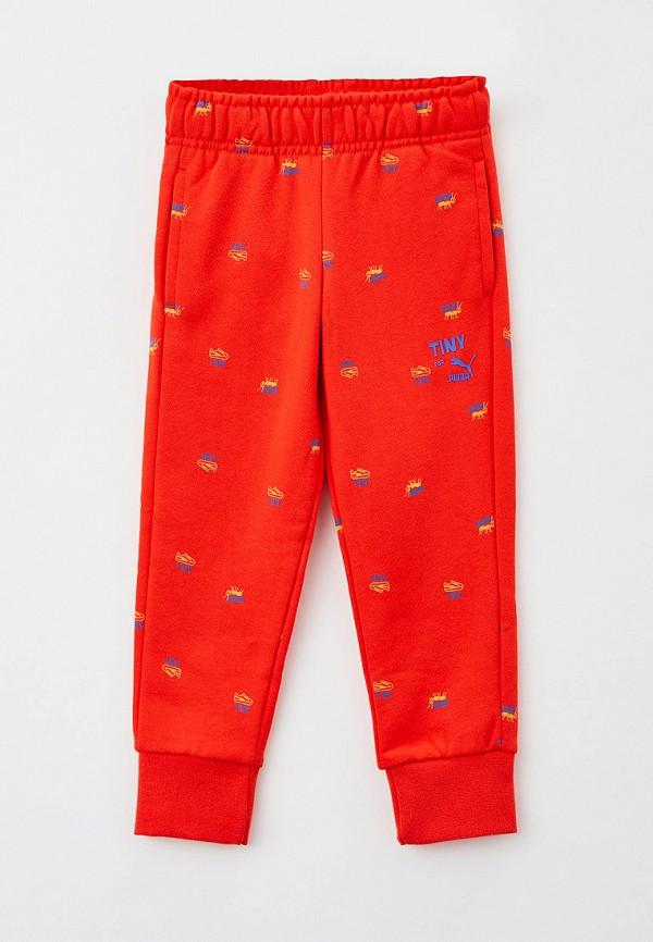 спортивные брюки puma малыши, красные