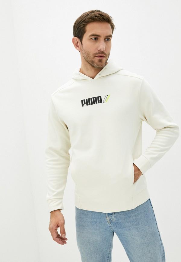 мужские худи puma, бежевые