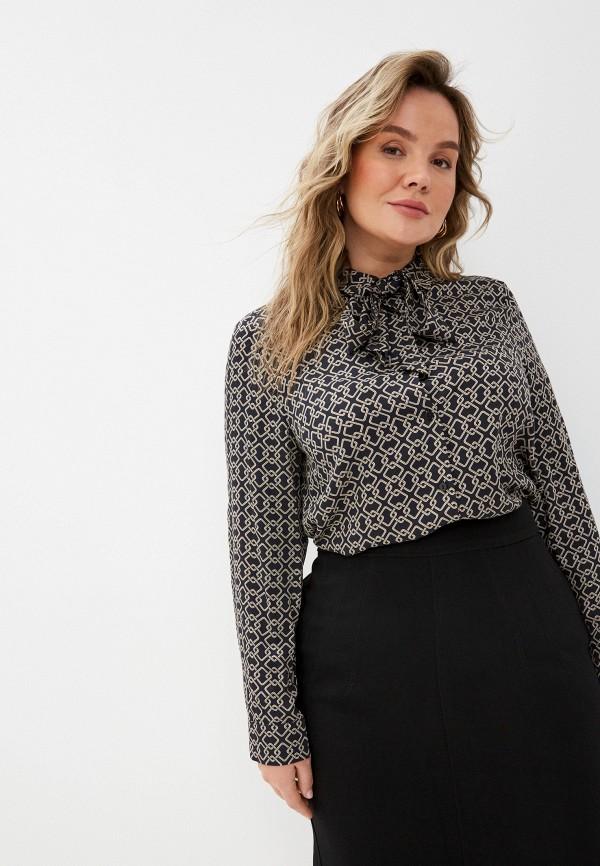 женская блузка с длинным рукавом elena miro, разноцветная