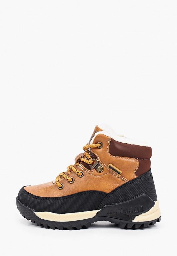 ботинки patrol для мальчика, коричневые