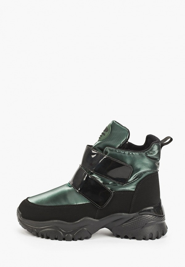 женские высокие кроссовки patrol, зеленые