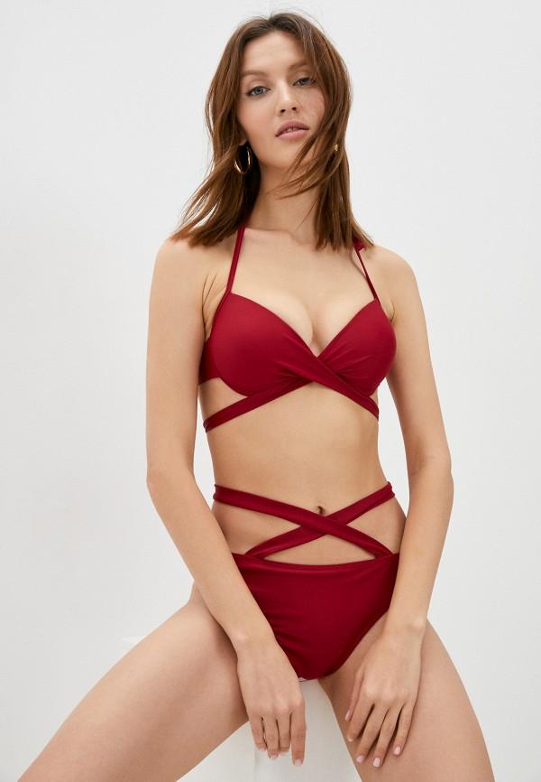 женский купальник delice, бордовый