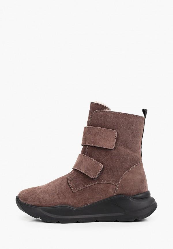 ботинки котофей для девочки, коричневые