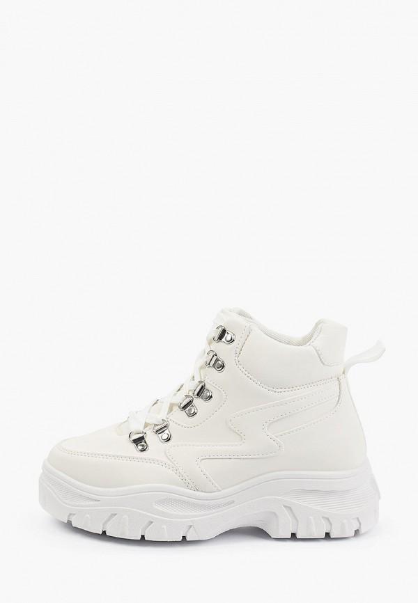 женские высокие кроссовки diora.rim, белые