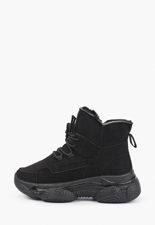 женские высокие кроссовки diora.rim, черные