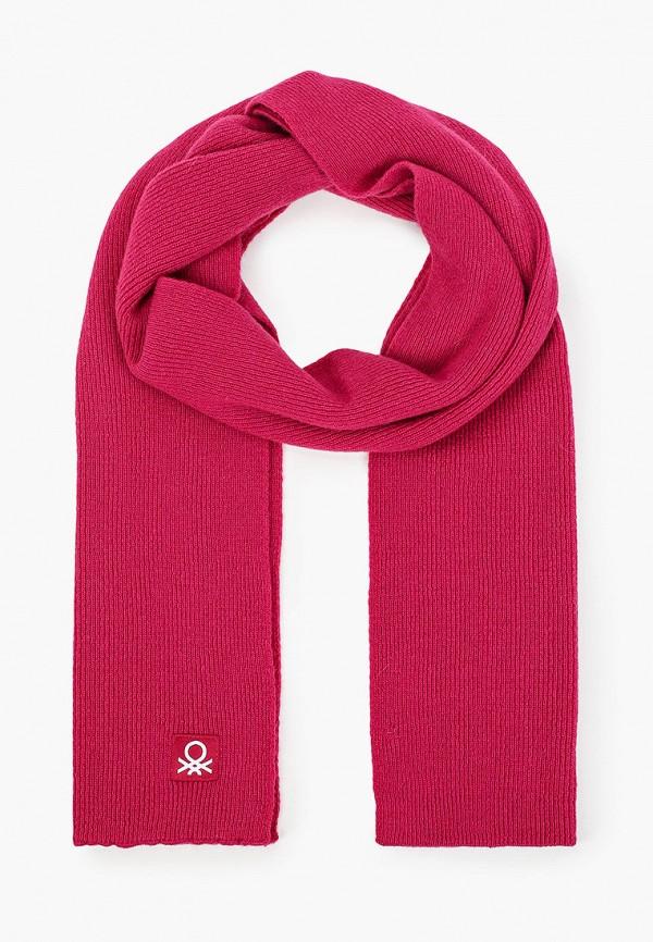 шарф united colors of benetton для девочки, розовый