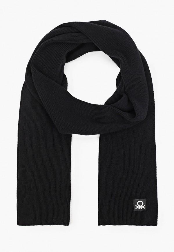 шарф united colors of benetton для мальчика, черный