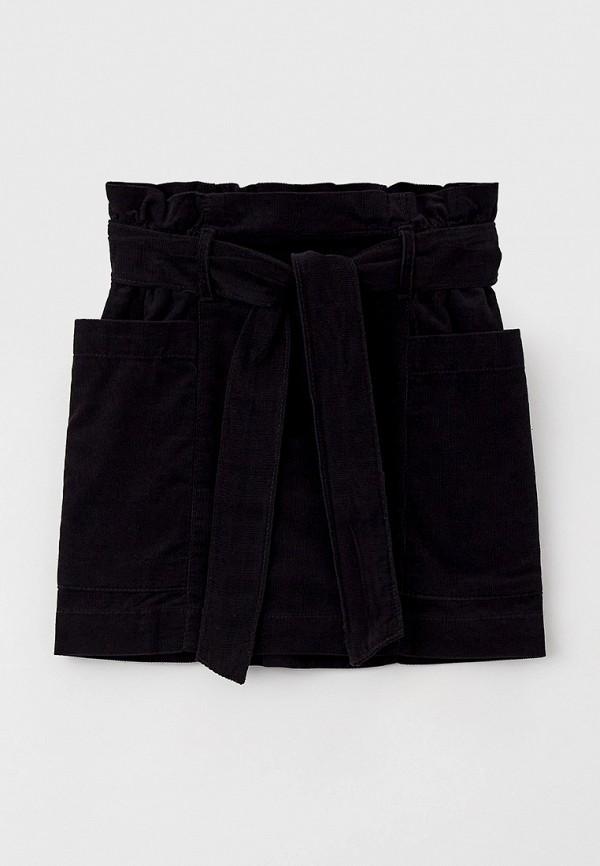 юбка united colors of benetton для девочки, черная
