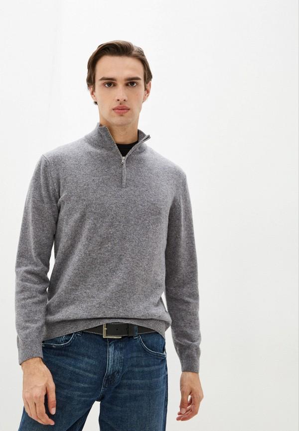 мужской джемпер united colors of benetton, серый