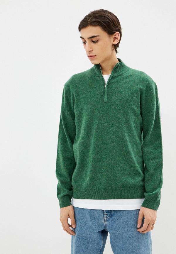 мужской джемпер united colors of benetton, зеленый
