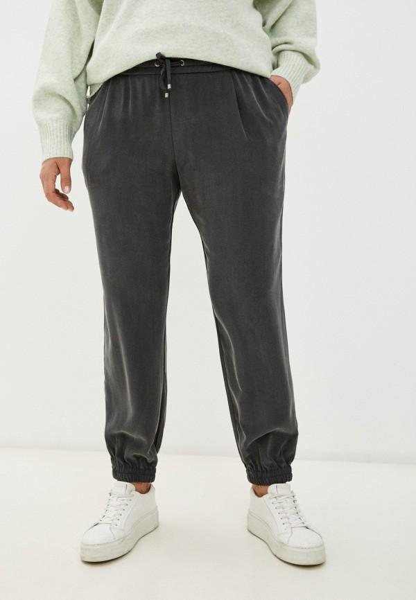 женские брюки джоггеры elena miro, серые
