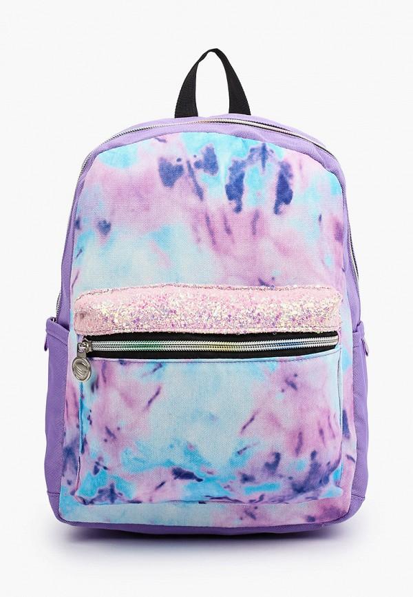 рюкзак котофей для девочки, фиолетовый