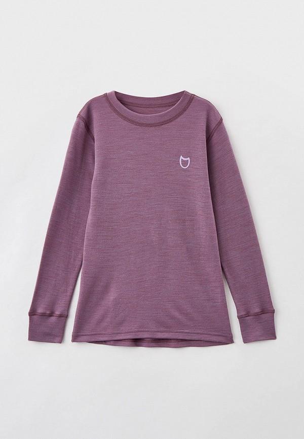 термобелье котофей для девочки, фиолетовое