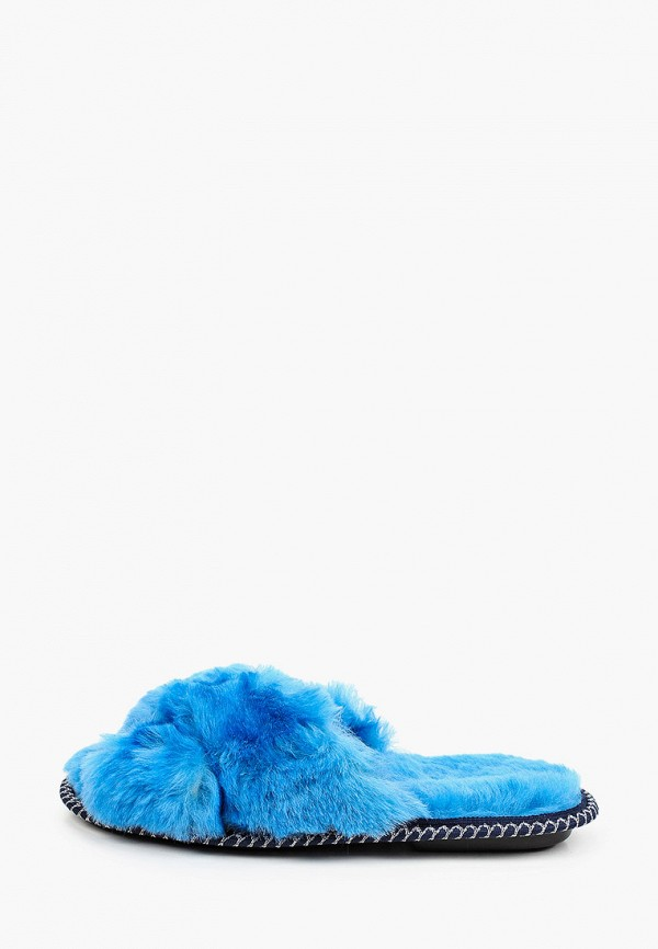 женские тапочки fri & daytime, синие