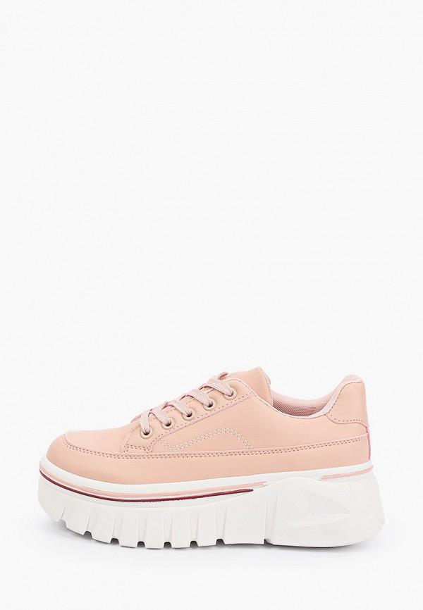 женские низкие ботинки diora.rim, розовые