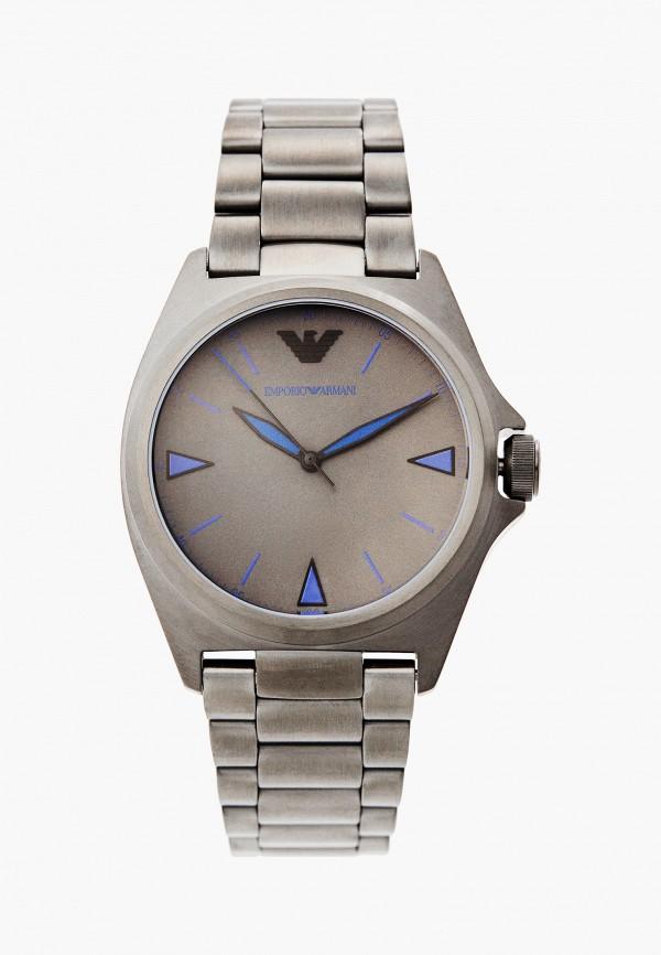 мужские часы emporio armani, серые