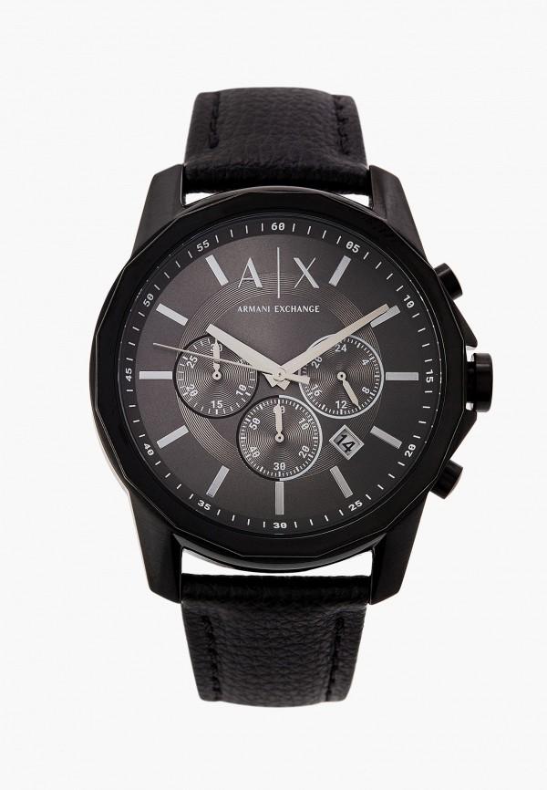 мужские часы armani exchange, черные