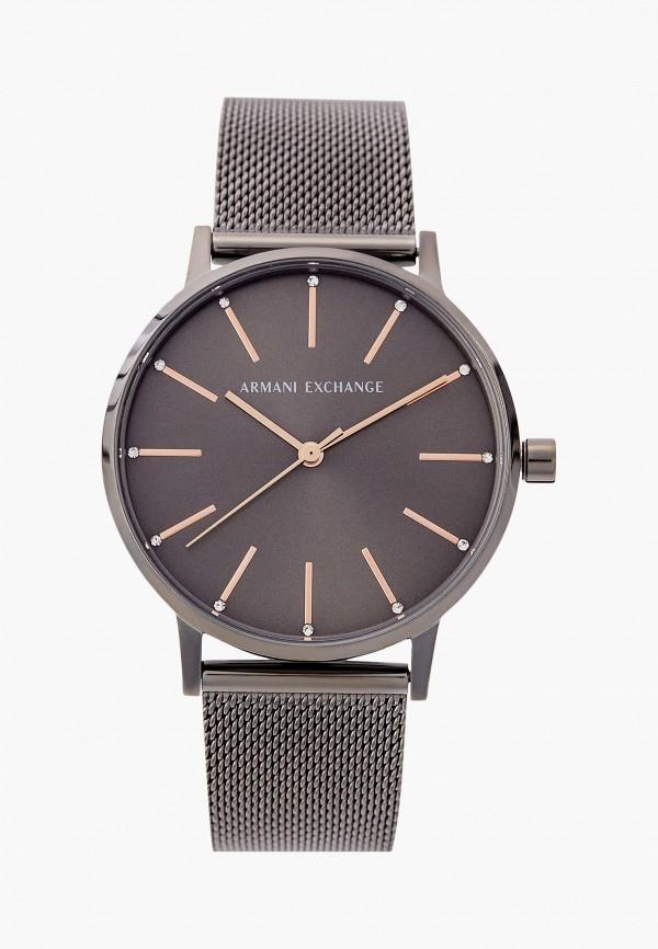 женские часы armani exchange, серебряные