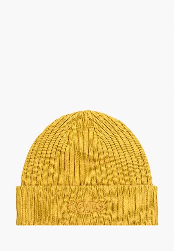 мужская шапка levi's®, оранжевая