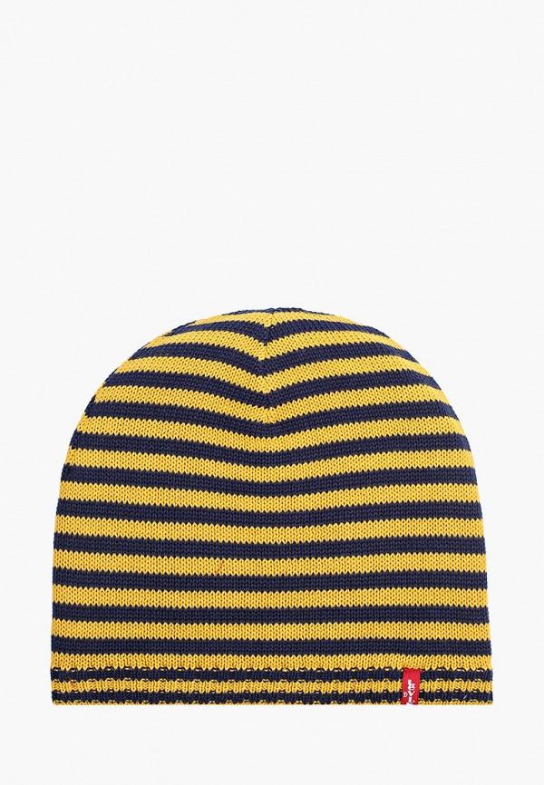 мужская шапка levi's®, желтая
