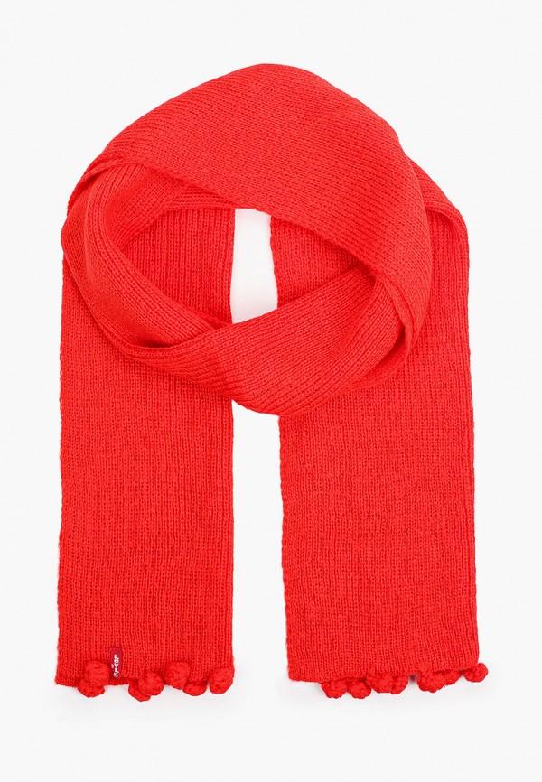 женский шарф levi's®, красный