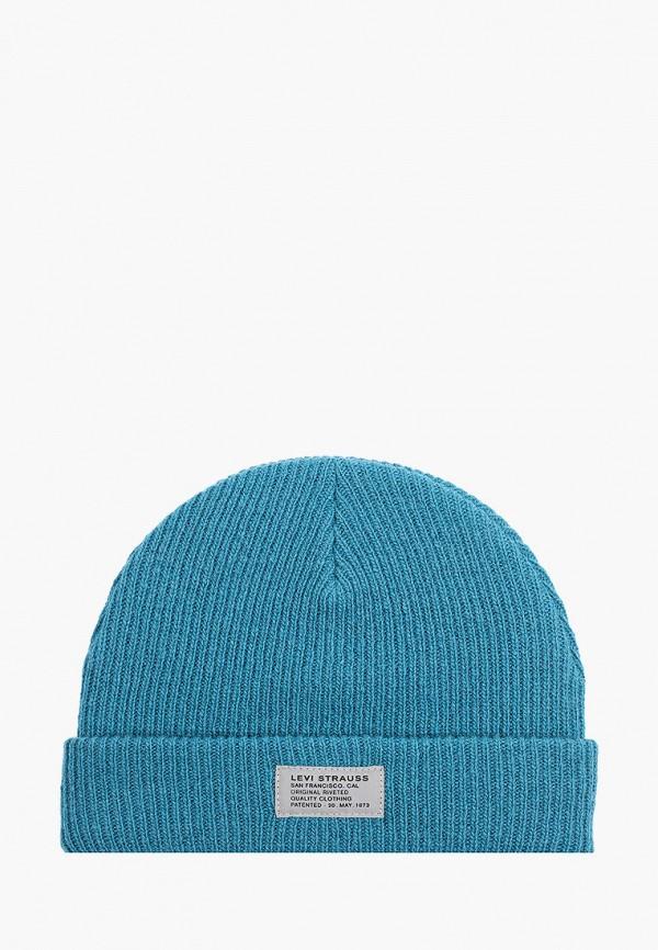мужская шапка levi's®, бирюзовая