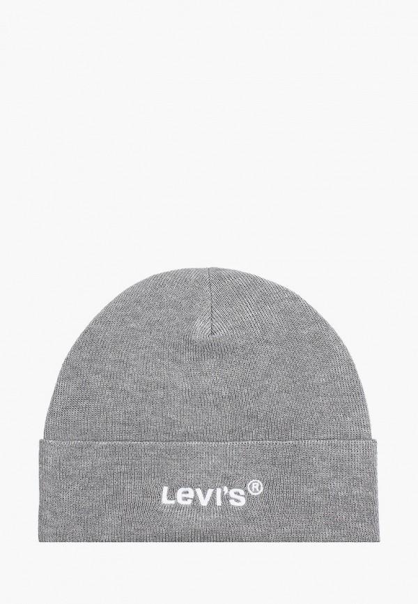 женская шапка levi's®, серая