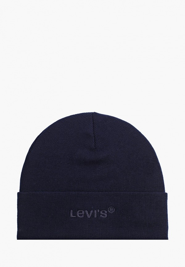 женская шапка levi's®, синяя