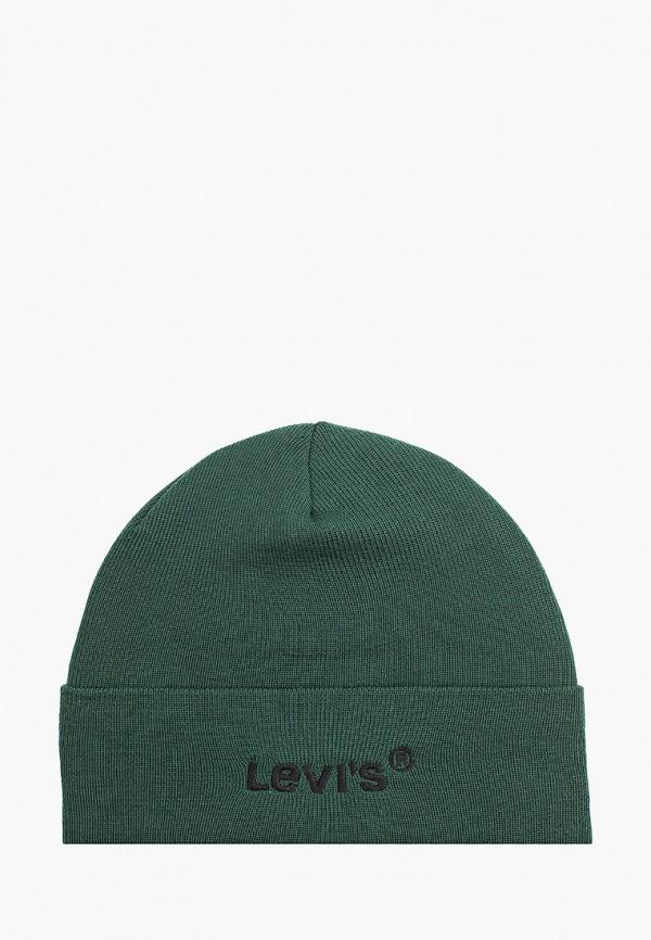 женская шапка levi's®, зеленая