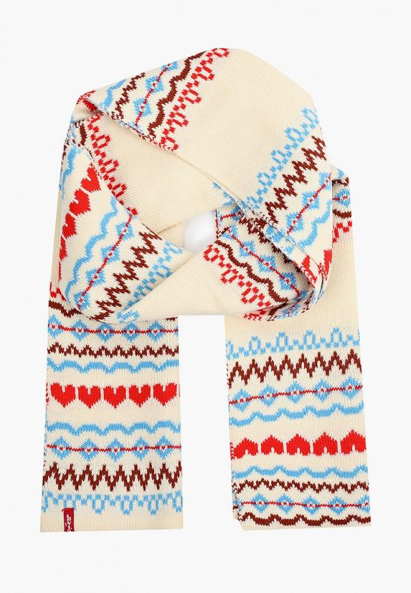 женский шарф levi's®, белый