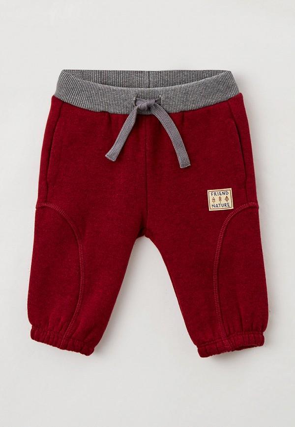спортивные брюки united colors of benetton для мальчика, бордовые