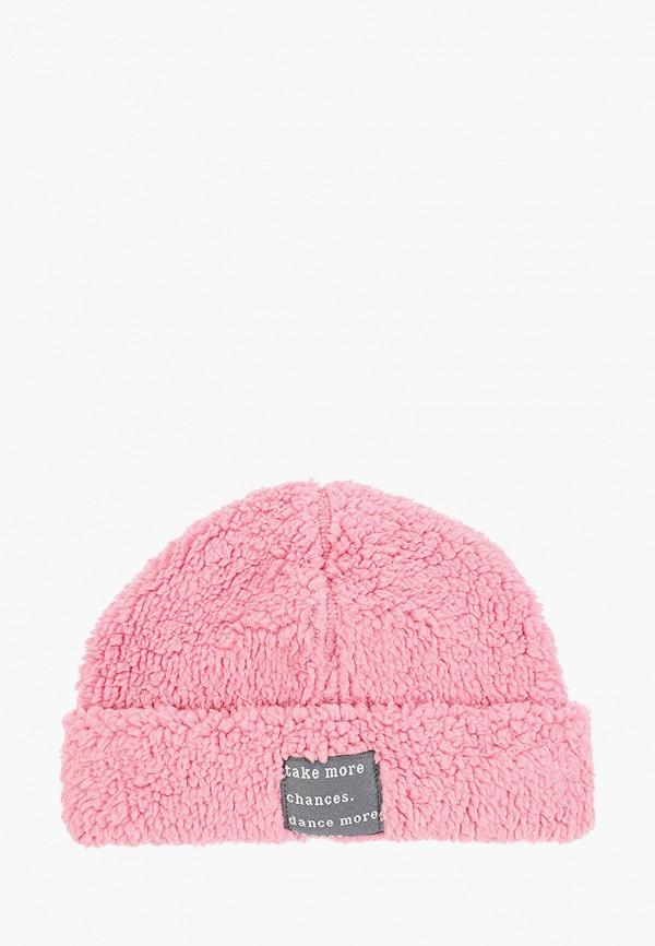 шапка united colors of benetton для мальчика, розовая