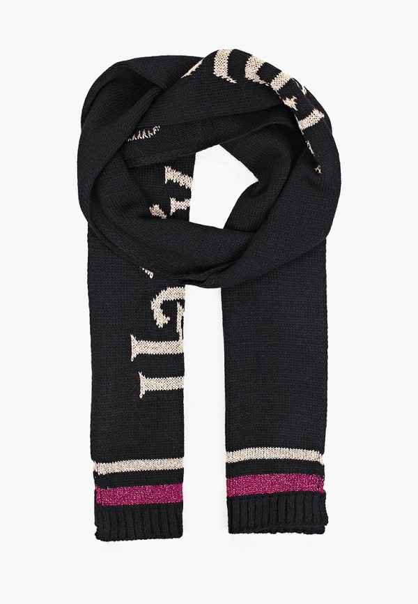 шарф united colors of benetton для девочки, черный