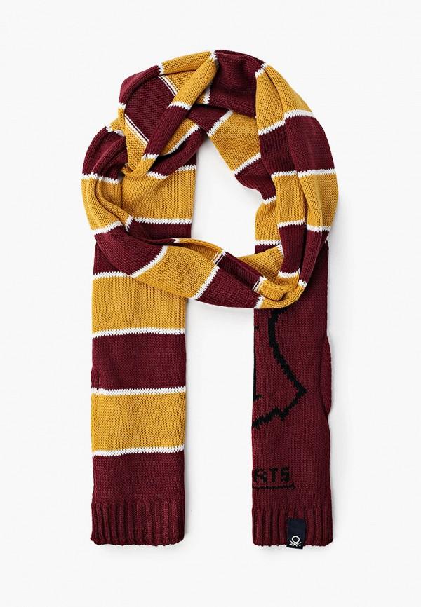 шарф united colors of benetton для мальчика, разноцветный